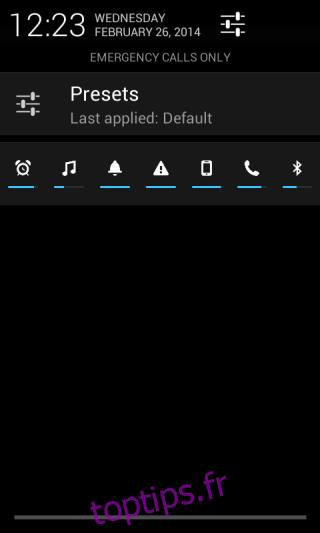 Persist améliore le contrôle du volume sur Android grâce à des profils personnalisés