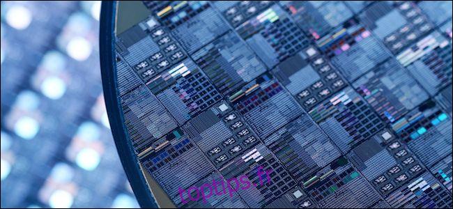 Que signifient «7 nm» et «10 nm» pour les processeurs et pourquoi sont-ils importants?