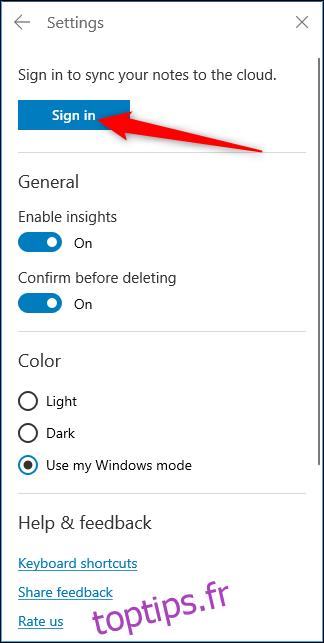 Comment voir les notes autocollantes de Windows 10 sur le Web et Android