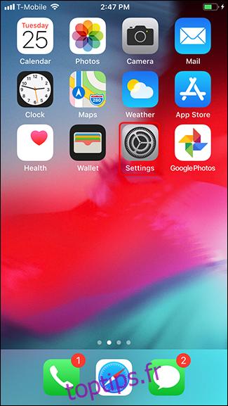 Que faire avant de vendre, de donner ou d'échanger votre iPhone