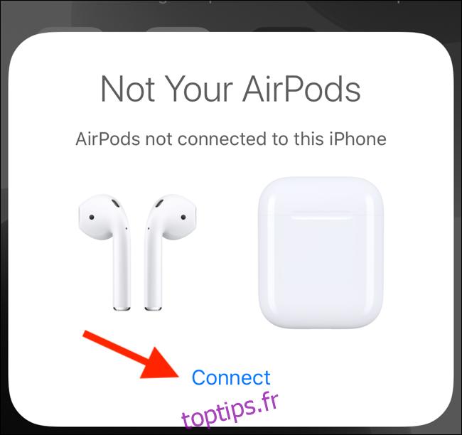 Comment coupler deux ensembles d'AirPod avec le même iPhone