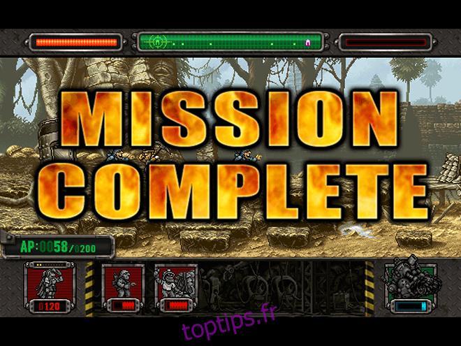 Metal Slug Defense - Mission terminée