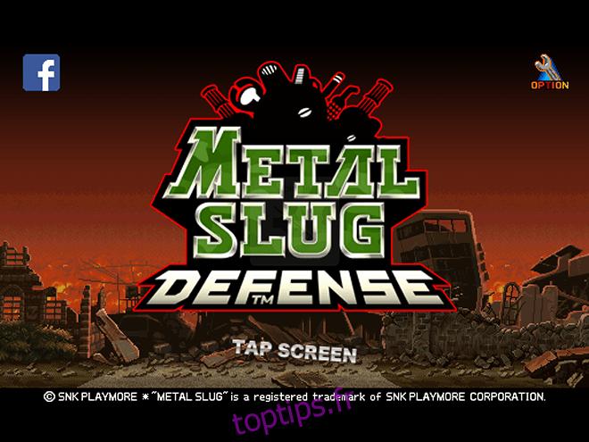 Metal Slug Defense est disponible pour Android et iOS [Review]