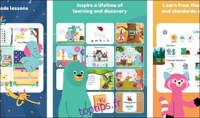 31 excellentes applications iPad pour les enfants