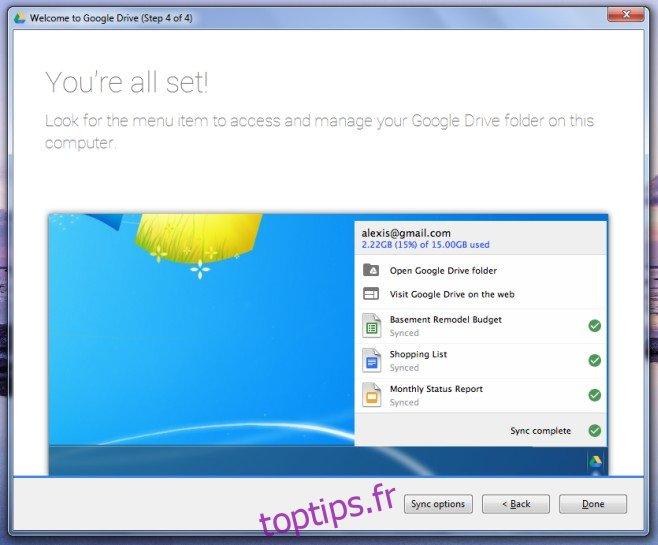 Comment synchroniser sélectivement des dossiers avec Google Drive