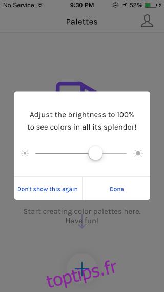 Créez des palettes de couleurs sur votre iPhone et synchronisez-les avec votre Mac