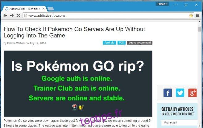 Comment bloquer toute mention de Pokemon Go d'Internet