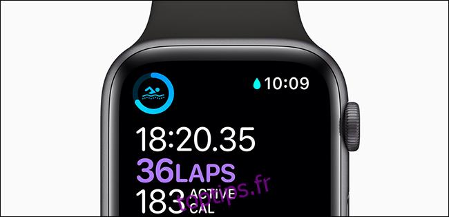 Quelle est l'étanchéité de votre Apple Watch?