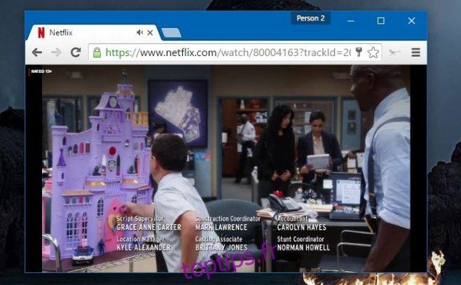 Supprimer le compte à rebours de l'épisode suivant de Netflix et l'invite à regarder [Chrome]