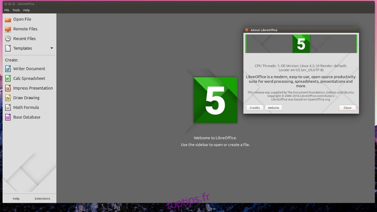 Comment installer Libre Office sur Linux