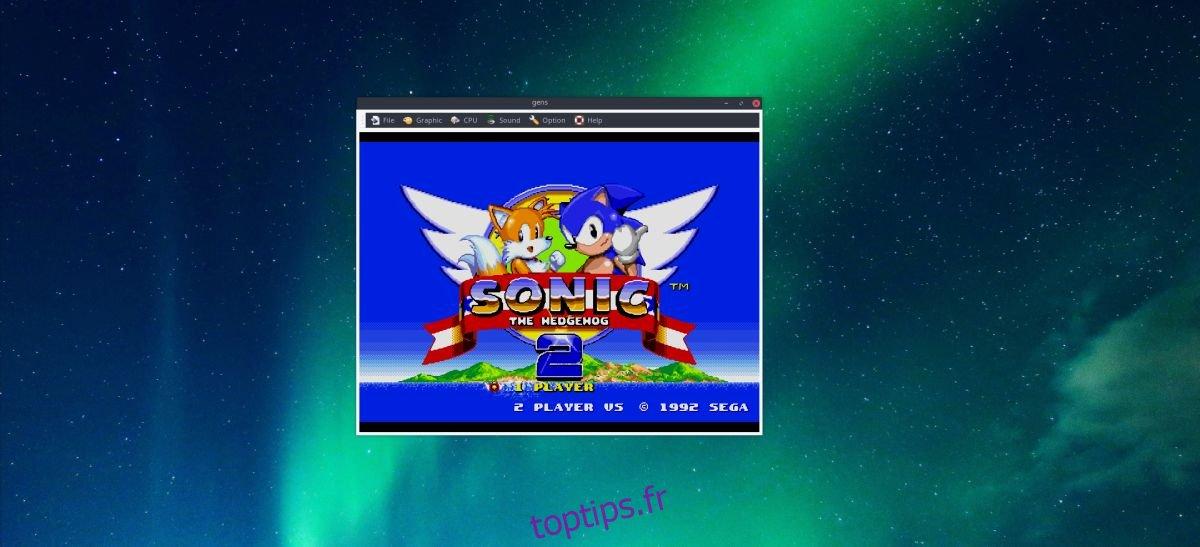 Comment jouer à des jeux Sega sur Linux en utilisant Gens