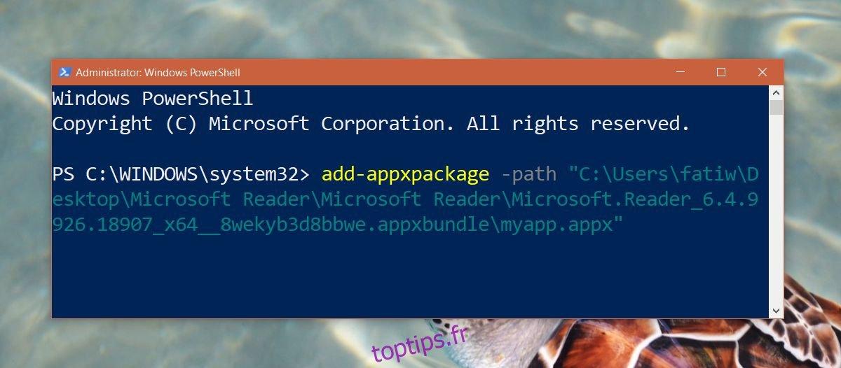 Comment obtenir l'application Reader sur Windows 10