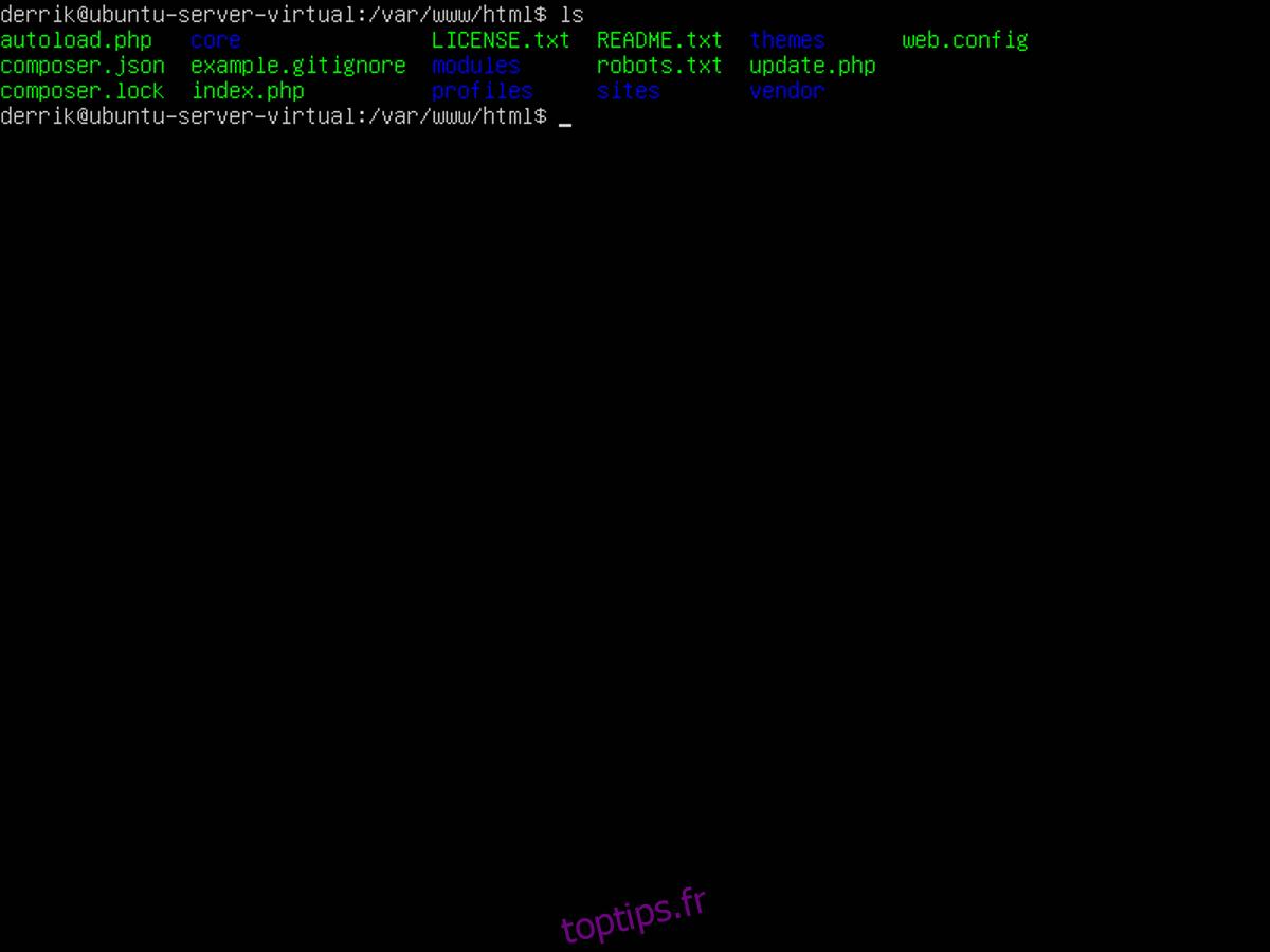 Comment sauvegarder un site Drupal sous Linux