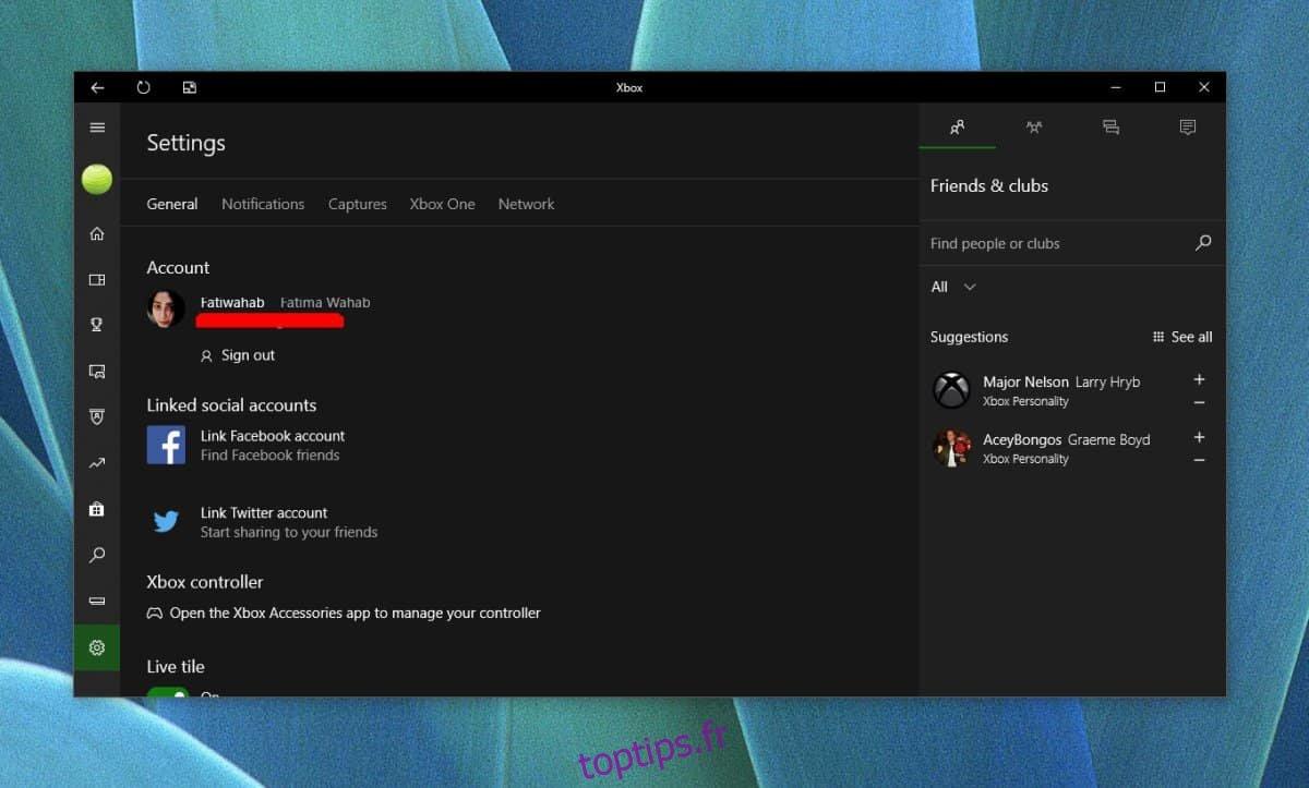 Comment réparer le compte Twitter ne se connectant pas à l'application Xbox sur Windows 10