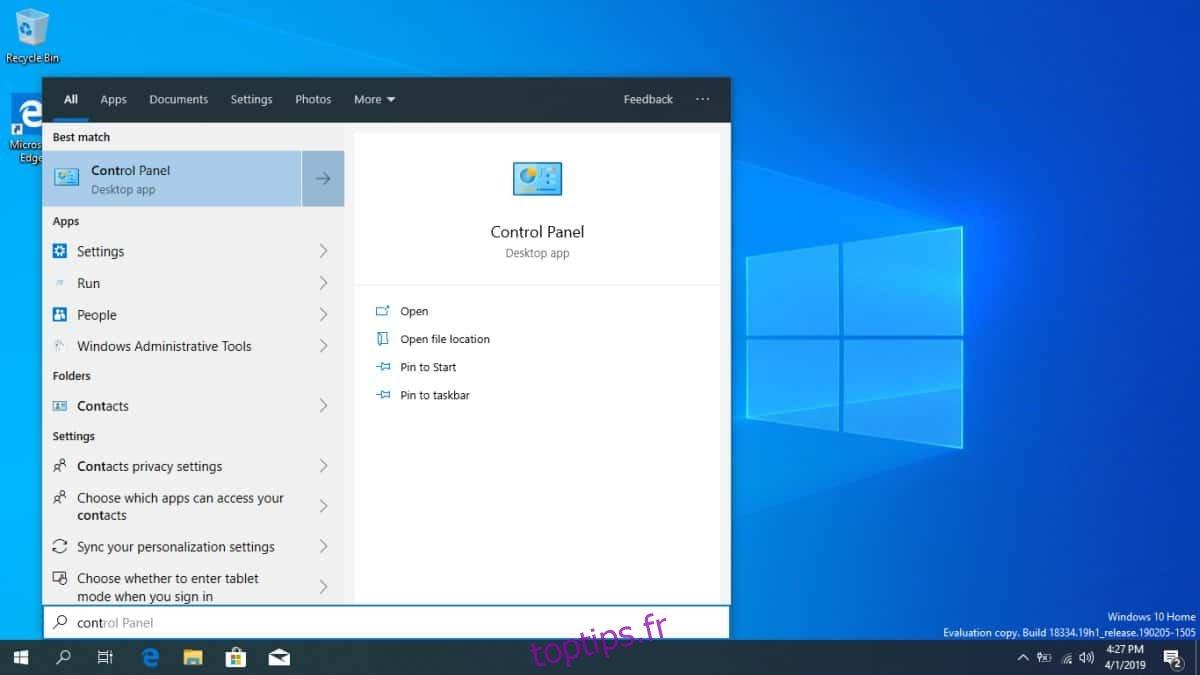 15 meilleures nouvelles fonctionnalités de la mise à jour 19H1 de Windows 10 avril 2019