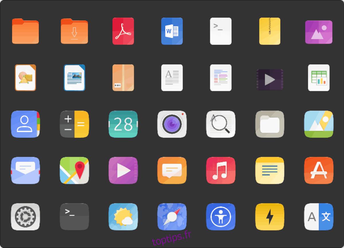 Comment installer le thème d'icônes Suru Plus sous Linux