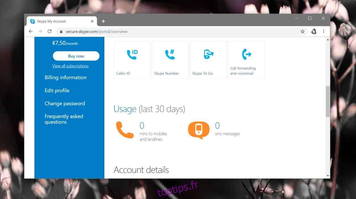 Comment modifier l'e-mail principal d'un identifiant Skype