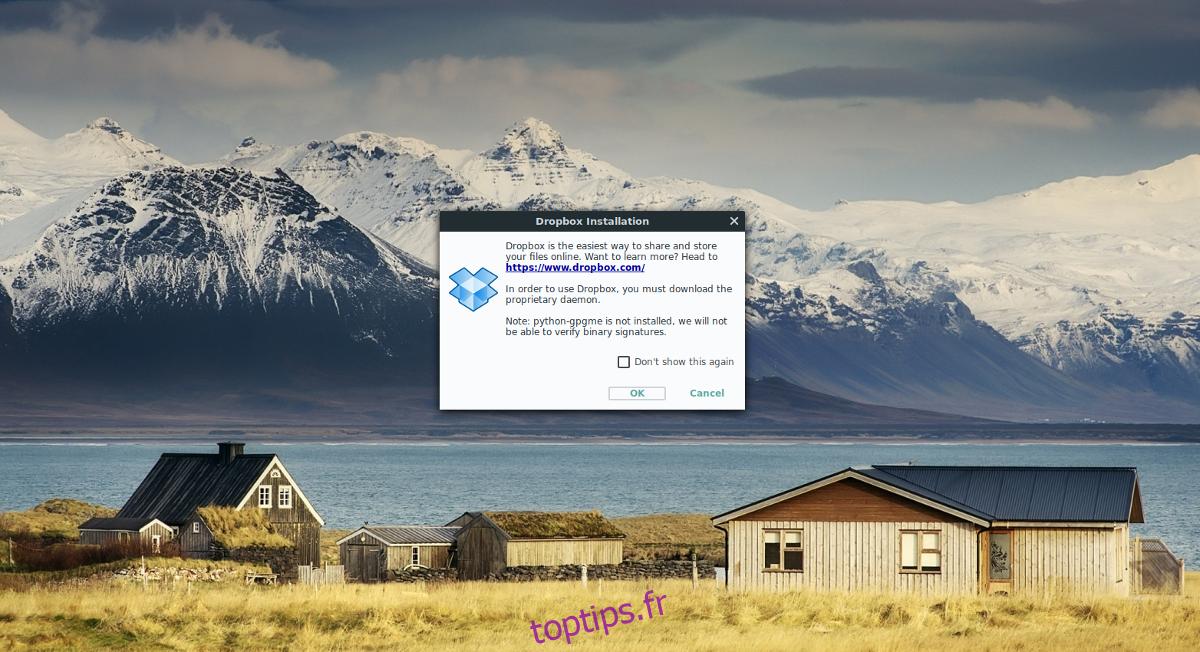 Comment utiliser Dropbox sous Linux