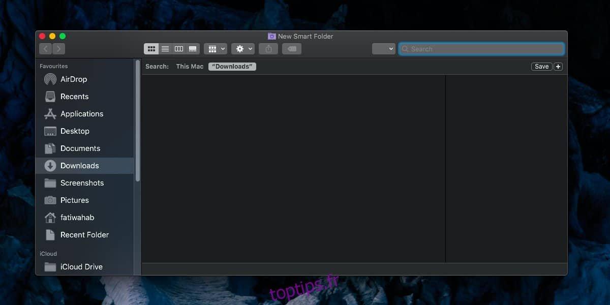 Comment créer des dossiers intelligents sur macOS