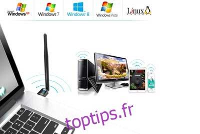 Adaptateur Wi-Fi USB EDUP