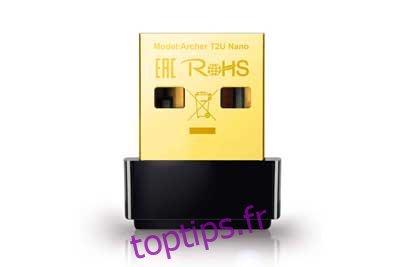 TP-Link Mini - Adaptateur Wifi USB 2.0 AC600   Adaptateur réseau sans fil double bande 2.4G / 5G pour PC de bureau