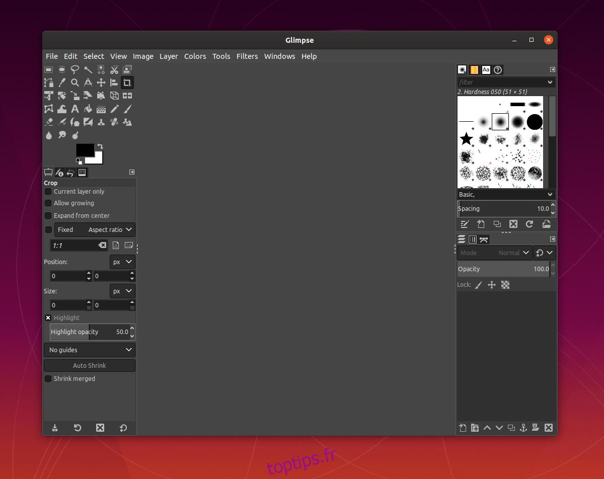 Comment installer l'éditeur d'images Glimpse sous Linux