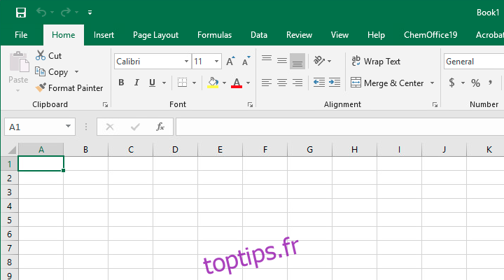 Pourquoi Excel ressemble à ce qu'il fait – CloudSavvy IT