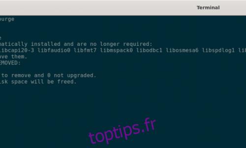 Comment purger Wine de Linux